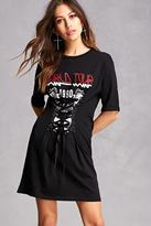 Forever 21 Tour Corset T-Shirt Dress