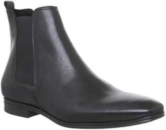 Ask the Missus Iago Boots Black Leather