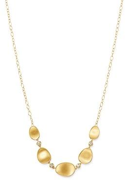 Marco Bicego 18K Yellow Gold Lunaria Diamond Half Collar Necklace, 16.5
