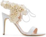Rupert Sanderson floral sandals