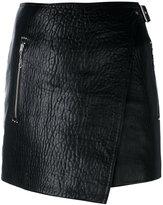 Etoile Isabel Marant mini Kakili skirt - women - Lamb Skin - 36
