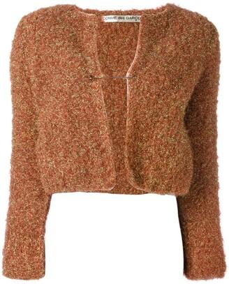 Comme des Garcons Pre-Owned lurex shrug jacket