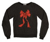 Wildfox Couture Girl's I'm The Present Baggy Beach Jumper