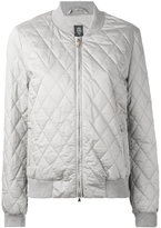 Eleventy quilted bomber jacket - women - Silk/Cotton/Polyester - M