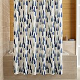 Crate & Barrel Marimekko Iso Pisaroi Shower Curtain