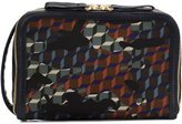 Pierre Hardy 'Dop Kit' forest camocube print clutch