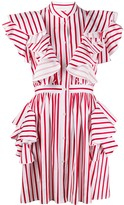 MSGM Ruffle Mini-Dress