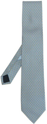 Salvatore Ferragamo Gancini pattern tie