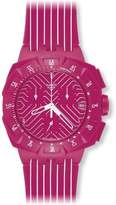 Swatch S Women's SUIP401 Run Multi-Color Strap Dial Watch