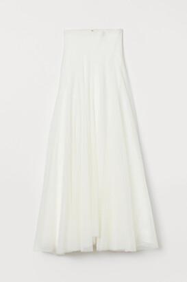 H&M Tulle wedding skirt