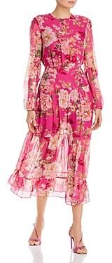 Sau Lee Faith Silk Dress