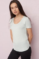 Garage Scoop Neck Relaxed Tee
