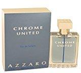 Azzaro Chrome United by Eau De Toilette Spray 1.7 oz for Men - 100% Authentic