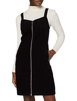 Dorothy Perkins Women's Cord Zip Pinny Dress,(Size:)
