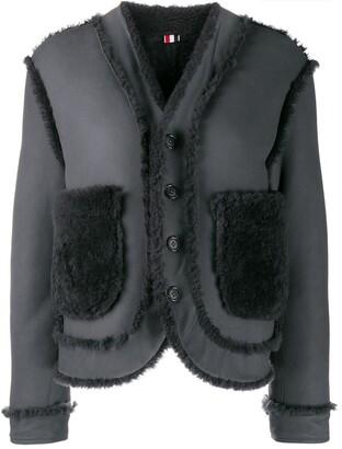 Thom Browne Reversible Shearling Jacket