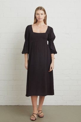 Maternity Linen Doreen Dress