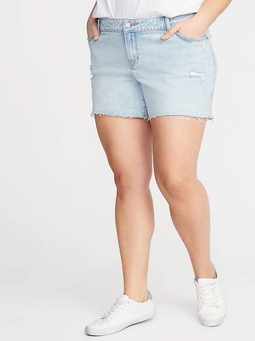 67cce5ff42 Denim Shorts 5 Inch Inseam - ShopStyle