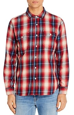Frame Plaid Regular Fit Shirt