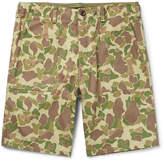 Rag & Bone - Camouflage-print Cotton-canvas Shorts
