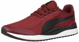 Puma Unisex-Adult Pacer Next Sneaker Rhubarb Black White 5.5 M US