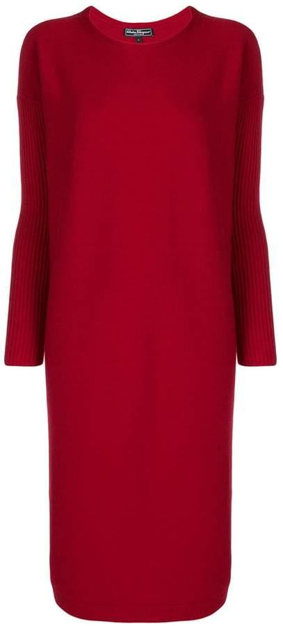 Salvatore Ferragamo sweater dress