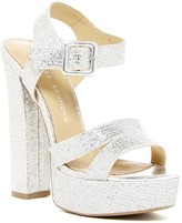 Chinese Laundry All Spice Glitter Platform Sandal