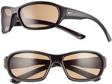 Nike Men's Defiant Rectangular Wrap Sunglasses