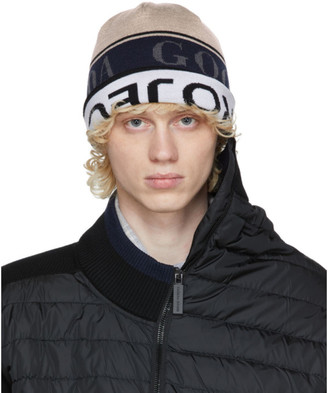 Y/Project Reversible Multicolor Canada Goose Edition Wool Beanie