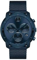 Movado 'Bold' Chronograph Mesh Strap Watch, 44mm