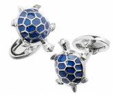 Jan Leslie Blue Turtle Cuff Links