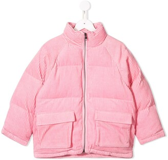 Stella Mccartney Kids Corduroy Puffer Jacket