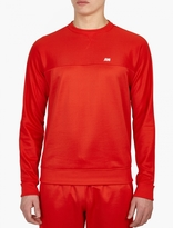 Ami Red Track-Style Sweatshirt