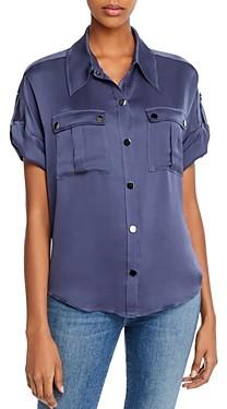 Ramy Brook Sawyer Snap-Front Shirt