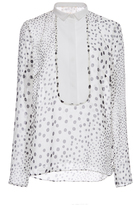 Giambattista Valli Silk Georgette Dress Shirt