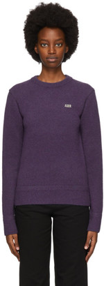 Ader Error Purple Teit Sweater