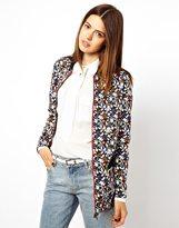 Asos Bomber Jacket in Floral Print