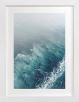 Minted Marbled Wake Domino Non-custom Art Print