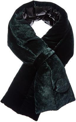 Moncler Structured Silk-Blend Scarf