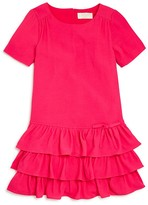 Kate Spade Girls' Tiered Knit Dress - Sizes 2-6