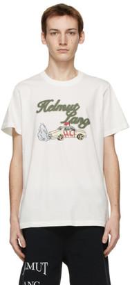 Helmut Lang Beige Saintwoods Edition HL Taxi T-Shirt