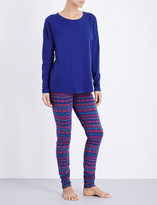 Tommy Hilfiger Iconic stretch-cotton pyjama set