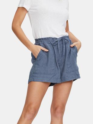 Michael Stars Paulette Ruffled Waist Shorts
