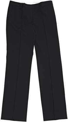 Mauro Grifoni Black Wool Trousers for Women
