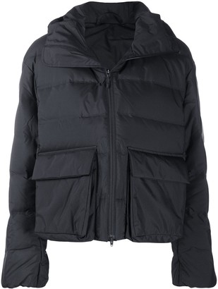 Y-3 Funnel Neck Puffer Jacket