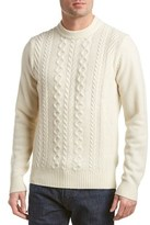 Ben Sherman Modern Fit Wool-blend Crewneck Sweater.