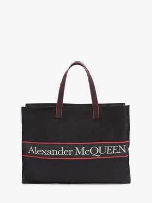 Alexander McQueen East West Selvedge Tote