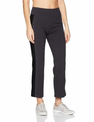 Calvin Klein Women's High Waist Side Stripe Crop Flare Pant