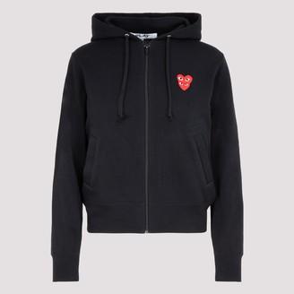 Comme des Garcons Logo Patch Zipped Jacket