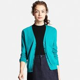 Uniqlo Women's UV Cut V-Neck Cardigan