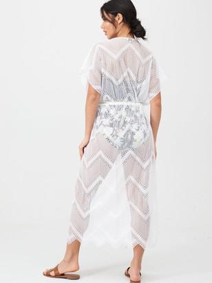 Panache Beach Dress - White
